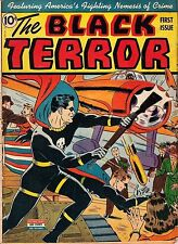 Black Terror #1 Photocopy Comic Book