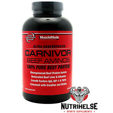 MuscleMeds Carnivor Ultra-Concentrated 300tab Bioengineered Beef Protein Isolate