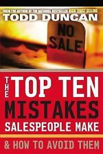 The Top Ten Mistakes Salespeople Make & How to Avoid Them-ExLibrary