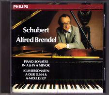 Alfred BRENDEL: SCHUBERT Piano Sonata D.537 644 Klaviersonaten CD Op.120 164