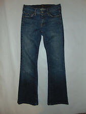 7 For All Mankind Womens Medium to Dark Wash Denim Jeans Sz 26 Flare