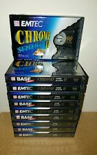 BASF EMTEC CE II CHROME SUPER QUALITY 90 (×10) : Made in Germany : NEW & SEALED