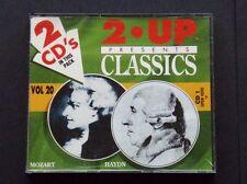 2 UP PRESENT CLASSICS - VOL 20 - MOZART PIANO CONCERTO NO. 9, HAYDN SYM. 94 2CD