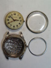 Vintage Bulova Waterproof Wristwatch parts/restore