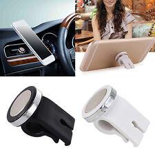 Auto Fahrzeug Lüftungsschlitz Halterung Halter Magnet für Handy Phone Schwarz