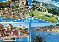 Alte Postkarte - Saluti da Sestri Levante