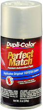 Dupli-Color BTY1608 Silver Opal Metallic Toyota Auto Paint 8oz FREE SHIPPING