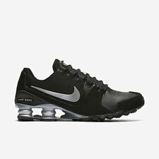 Nike Shox Avenue LTR men's size 11 sneakers in black & metallic silver  -$30 off
