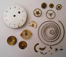 European Verge Fusee Pocket Watch Movement 1790 possible repeater for parts