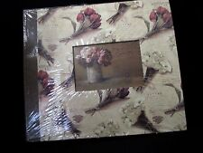 Kathryn White Floral Scrapbook Album and Paper Set Scrapbooking 12 x 12