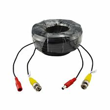 ANNKE 1x 30m 100ft CCTV BNC Video Power Cable DVR Security Camera Wire Cord