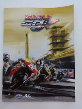 2014 Indy Red Bull Indianapolis Moto GP Race Collector Program IMS INDY500