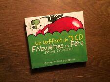 Fabulettes En Fete  [3 CD Album] Anne Sylvestre / Discotheque Petits