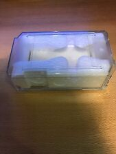 Original ROLEX Watch Clear Plastic Protective Travel Case Box Excellent Cond