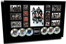 NEW KISS SIGNED LIMITED EDITION FRAMED MEMORABILIA