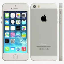 APPLE IPHONE 5S - 32GB - SILVER - FACTORY UNLOCKED - IMPORTED READ DESCRIPTION