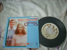 "a941981 Carpenters Japan 7"" Bless the Beast and the Children"