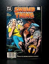 COMICS: DC: Saga of the Swamp Thing #59 (1980s) - RARE (alan moore/flash/batman)