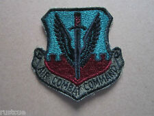 US Military USAF Air Combat Command ACC Woven Cloth Patch Badge