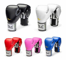 Everlast Style PU Boxing Training Gloves 10 12 14 16 oz Sparring Fighting Gloves
