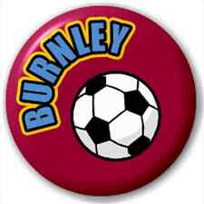 Burnley Fc Football Supporter 25Mm Pin Button Badge Lapel Pin