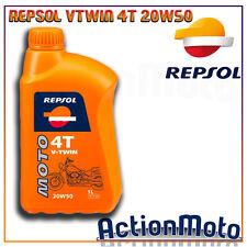 Olio motore Moto Scooter Repsol V-TWIN 4 Tempi 4T 20w50 1 Litri cod 57132N8