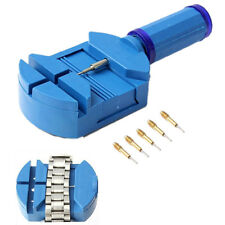 Watch Link Remover Tool Band Slit Strap Bracelet Pin Adjuster Repair Tools Set