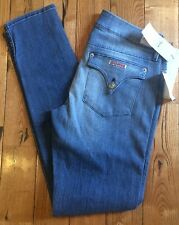 NWT Womens HUDSON Collin Skinny Pants Jeans Size 30 $178