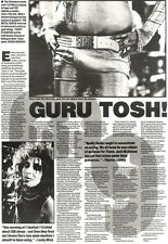 1/12/90 Pgn13 Article/Picture guru Tosh The Metal Gurus Lurch Out Of Retirement