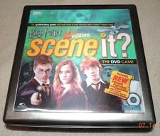 HARRY POTTER SCENEIt? DVD Board Game 2nd Edition AGES  8 UP 100% COMPLETE EUC!