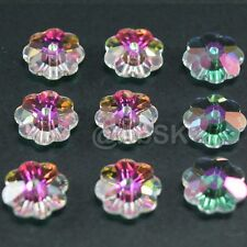 24 pcs Swarovski Crystal 3700 6mm Flower Margarita Lochrose Beads TANSAMISSION