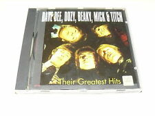 "DAVE DEE, DOZY, BEAKY, MICK & TICH ""THEIR GREATEST HITS"" CD CLASSIC"