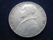 """MDS VATIKAN 10 LIRE 1958 """"PAPST PIUS XII"""", SEHR RAR !!!    #9"""