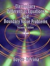 Elementary Differential Equations and Boundary Value Problems, DiPrima, Richard