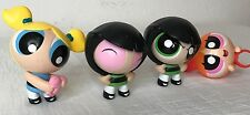 PowerPuff Girls Cartoon Network McDonalds Toys Set of (4) Toys
