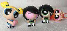 PowerPuff Girls Cartoon Network McDonalds Toys Set of (4) Toys