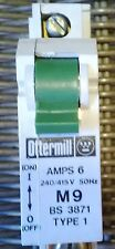 Ottermill Type 1 6 Amp System T M9 SP Mcb BS3871  Used