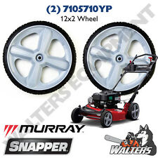 (2) Genuine 7105710YP Wheels 12x2 for Snapper & Murray Walk Mowers