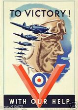 RAF Canada Fighter Command Hurricane WW2 Battle of Britain To Victory