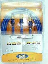 IXOS XHA215 RCA Audio Interconnect cables 2 meters
