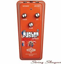 Rotosound 'The Pusher' Compressor Effects Pedal, RPU1