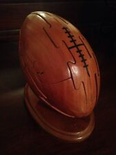 CHH Games - Sports - 3D Wooden Football Puzzle with Box & Instructions