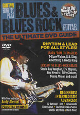 Guitar World How to Play Blues & Blues Rock Tuition DVD Learn How To Play