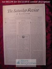 SATURDAY REVIEW February 26 1927 John Sargent Frank Jewett Mather Elinor Wylie