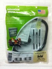 "Dormont 24"" SS Gas Log & Space Heater Connector, 3/8, 1/4, 10A-2131KIT-24B-079"