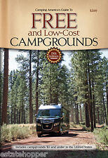 Guide To Free & Low Cost Campgrounds 15th Don Wright Newest Edition Free Ship