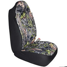 High Back Camo Truck Seat Cover Integrated Seatbelt For Chevy Fits Ford F150 1pc