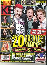 KERRANG #1430 Reading/Leeds Green Day:Foo Fighters:Paramore:Lamb Of God +POSTERS