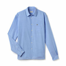 Lacoste - CH6313 Blue Chambray Voile Shirt - Size 38 / S - *NEW W/ TAGS* RRP£95