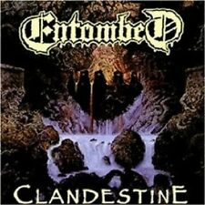 "ENTOMBED ""CLANDESTINE"" CD DEATH METAL NEU"